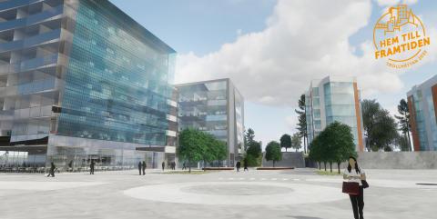 I vår bygger Eidar med Serneke 100 nya  studentlägenheter i Trollhättan