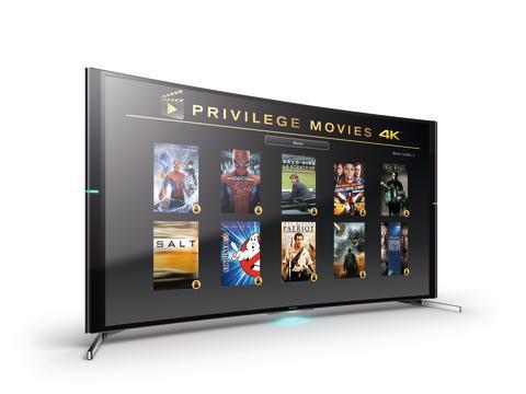 Promocja dla nabywców telewizorów Sony 4K Ultra HD: darmowy pakiet filmów w rozdzielczości 4K