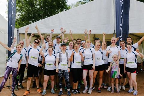 LAUFend gegen Krebs: AbbVie engagiert sich beim 8. NCT-Lauf in Heidelberg