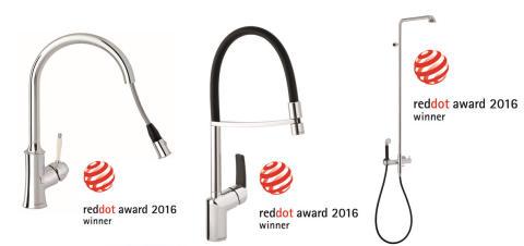Damixalle kolme arvostettua muotoilupalkintoa!