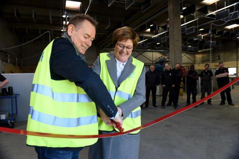Lindab udvider produktionen af kanaler på Sjælland