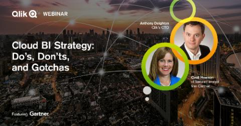 Tahola invites you to join the Qlik webinar, Cloud BI Strategy: Do's, Don'ts, and Gotchas