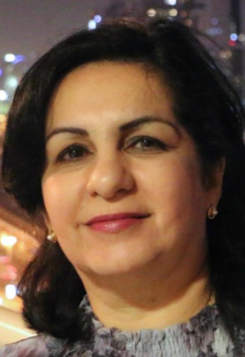 Ansam Al-Bayatti, överläkare på hudkliniken, Akademiska sjukhuset