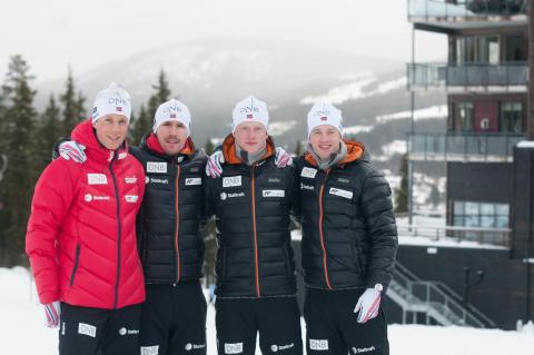 Skiskytter-gutta som straks er klare for VM