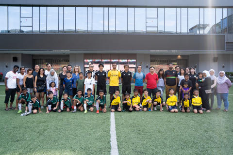 PHOTOS: J-League Coaches Host Football Clinic for Up-and-Coming Singaporean Youth Footballers