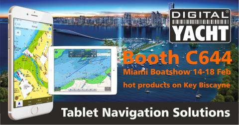 Digital Yacht at Miami Boat Show Booth C644 with new products and great deals