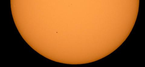 Upplev den sällsynta Merkuriuspassagen 11 november