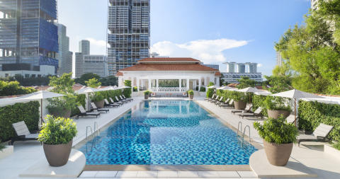 Swimming Pool - Raffles Singapore