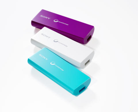 A Sony lança uma nova gama de carregadores USB portáteis: para que os seus companheiros eletrónicos nunca fiquem sem energia