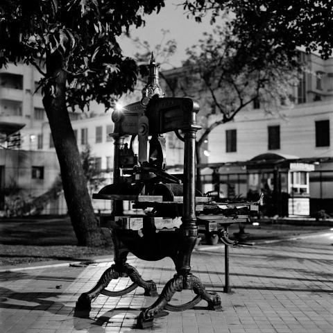 © Dayanita Singh. _Printing Press Museum_, Museum Bhavan, 2017