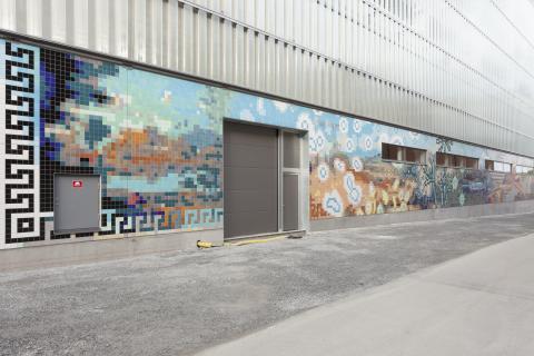 Det första konstverket i Sveriges största offentliga konstsatsning