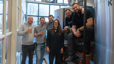 Karlsberg Brauerei: Collaboration Brew mit Big Time Brewery