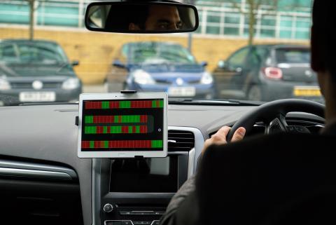 Ny teknologi  finner parkeringsplassen for deg