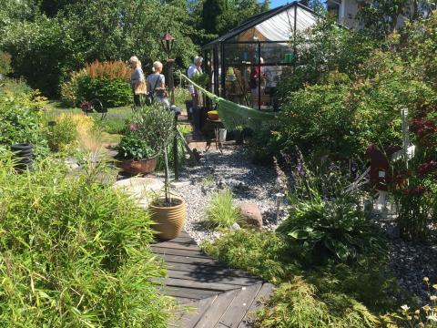 Trädgårdsbesök under Tusen Trädgårdar