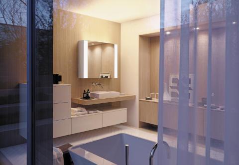 RL40 Room Light. Der Spiegel, der mit dem Licht zaubert.