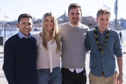 H.M. Konungen ger unga ledarförebilder stipendium - årets Kompassrosstipendiater utsedda