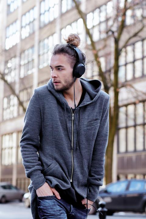 Słuchawki h.ear on stalowe