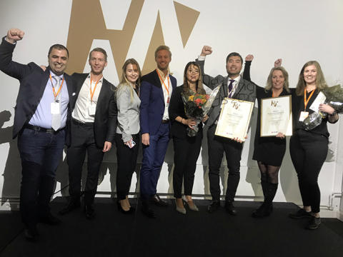 Lamooi Accounting och Revisionären får Visma Accounting Awards 2018