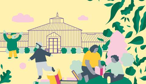 En månad med gratis aktiviteter  för alla barn i Barnens växthus!