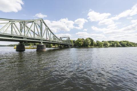 Glienicker Brücke in Potsdam