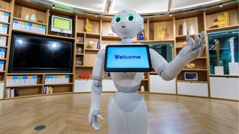 Innovation Center London Robot