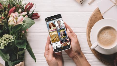 Condé Nast_Readly_smartphone