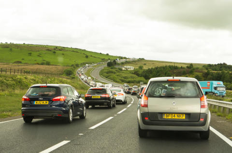 Second wave of Easter getaway traffic to arrive as 27m hit the road