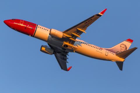 Norweigan's 737-800 Aircraft