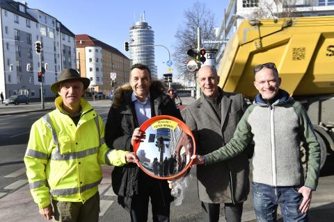 Danke München! Zusammen machen wir das Abbiegen sicherer!