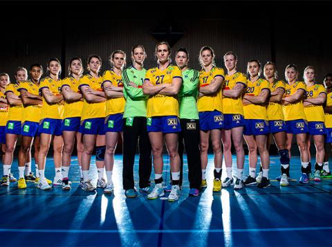 XL-BYGG i partnerskap med Svenska handbollslandslagen.