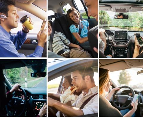 """DA Direkt Workshop/Fahrsicherheitstraining """"Unterschätzte Unfallgefahr: Ablenkung im Straßenverkehr"""""""