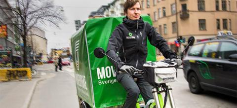 Cykelåkeriet MOVEBYBiKE konsoliderar och satsar på snabb expansion i Norden