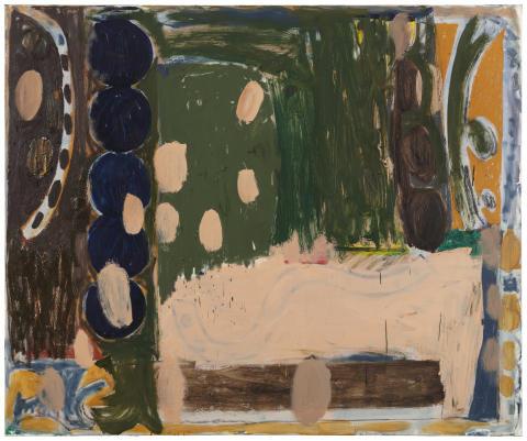 Tuukka Tammisaari, 2019. Olja på duk, 150 x 180 cm.