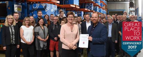 Lindab vil have Danmarks gladeste medarbejdere