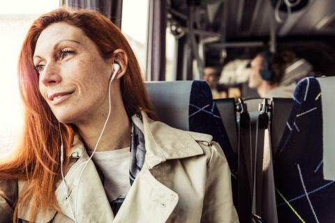 Nobina och Telia i samarbete för smartare busslinjer