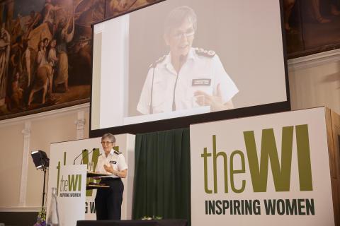 Commissioner outlines Met's work to keep women safe in speech to Women's Institute