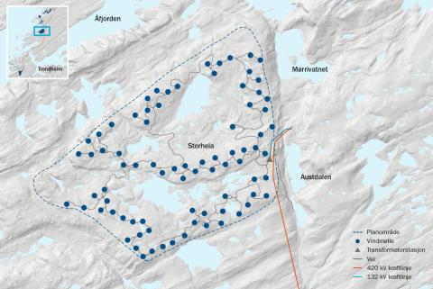 Faktaark-kart Storheia-vindpark-NO