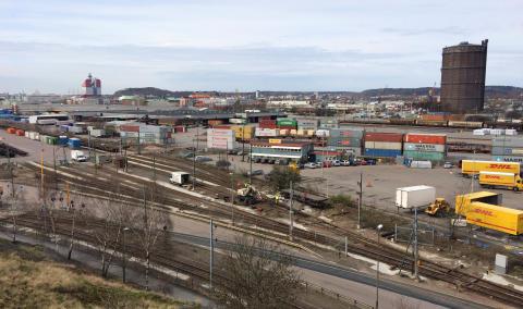 Green Cargos verksamhet på omlastnings- och kombiterminalen i Göteborg stängs för bostäder och vägar