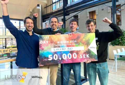 Lucero Wins Acceleration Pitch 2020 at Chalmers Ventures