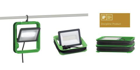 Schneider Electric vinner guld för Mureva arbetslampor LED i iF DESIGN AWARD