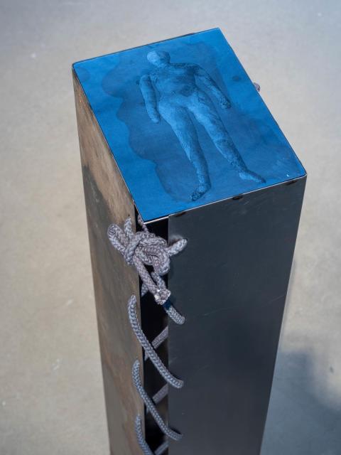 Frånvarons närvaro / The presence of absence, 2020. Installationsvy Bonniers Konsthall, 2020