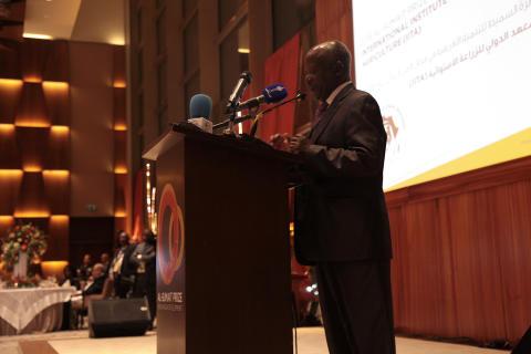 Dr Namanga Ngongi acceptance speech at Al Sumait Prize Awards