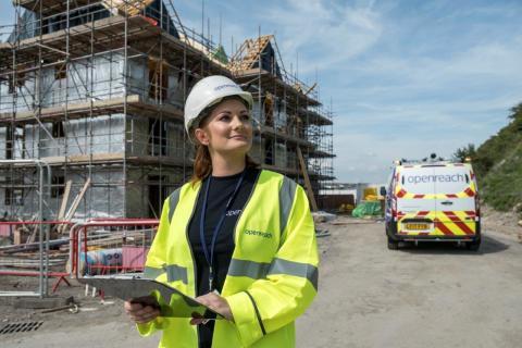 Fastest broadband in the UK speeds towards new Cambridgeshire housing developments