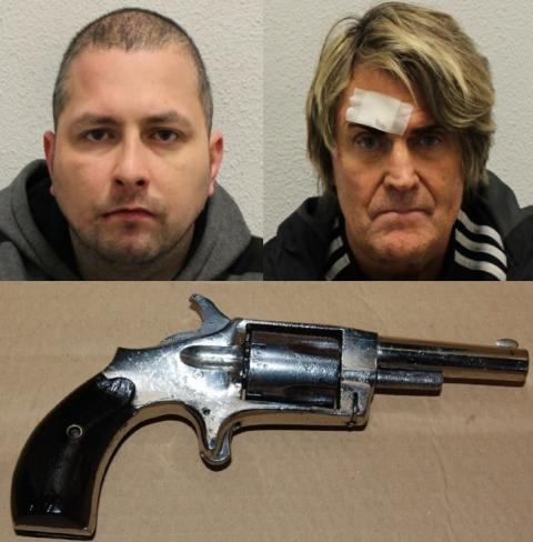 Two men jailed for firearms offences, Erith