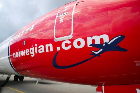 Norwegians trafikktall for august kraftig påvirket av reiserestriksjoner og lavere etterspørsel