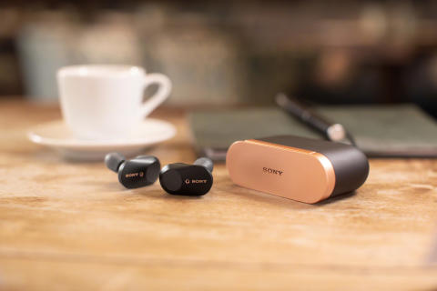 Sony lanceert firmware update voor de WF-1000XM3 volledig draadloze in-ear headphone