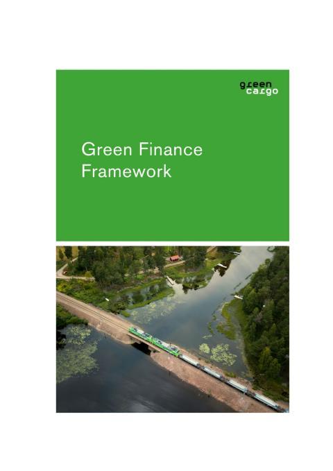 Green Finance Framework - report Q1 2021