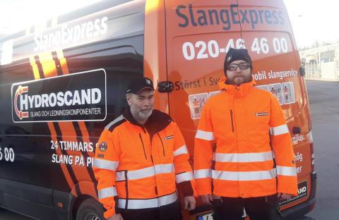 SlangExpress växlar upp i Västerås