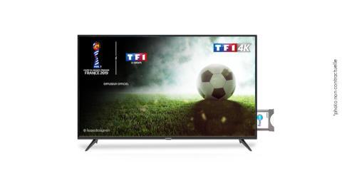TF1 4K de retour sur FRANSAT : vivez le meilleur de la Coupe du Monde Féminine de la FIFA 2019 en Ultra HD !