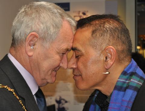 Moray museum stages Maori skull repatriation ceremony